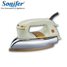 1200W High Power Stainless steel iron Household Iron Dry Iron Full Metal Non-stick sole plate Sonifer
