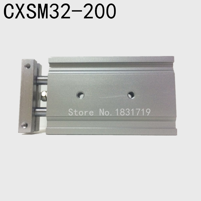 SMC type CXSM32-200 CXSM32*200 double cylinder / double shaft cylinder / double rod cylinder 32mm bore 200mm stroke smc type cxsm32 40 cxsm32 40 double cylinder double shaft cylinder double rod cylinder cxsm 32 40