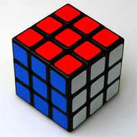 1 pçs clássico brinquedos 3x3x3 abs adesivo bloco de alta qualidade velocidade cubo mágico colorido aprendizagem & educacional quebra-cabeça cubo magico brinquedos