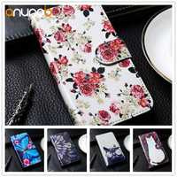 Stand Flip Leather Case For BQ 5057 5058 5059 5060 5065 5070 5201 Strike 2 Power Mobile Magic Space Wallet Case DIY Painted
