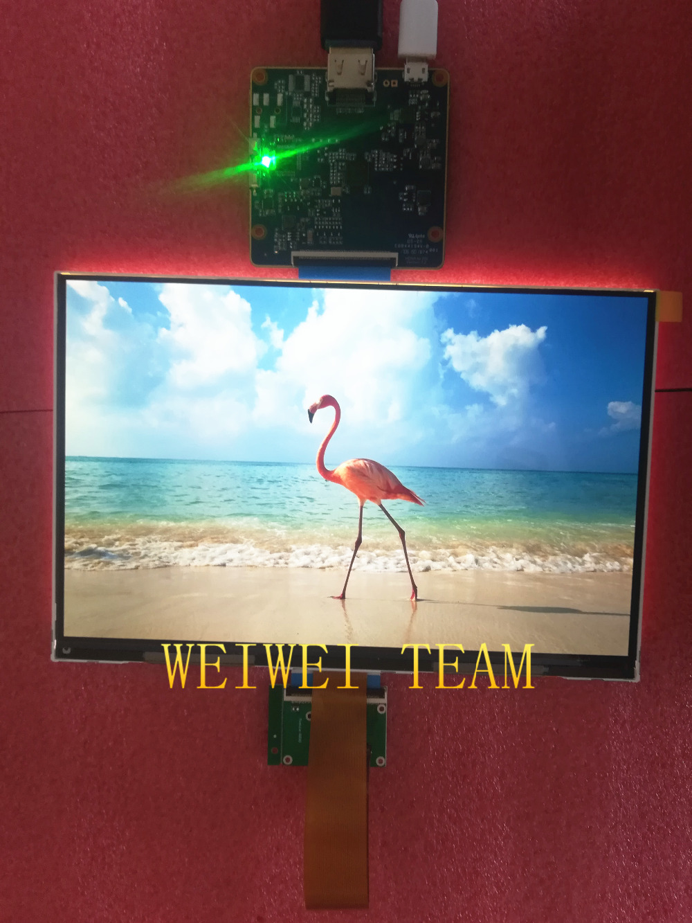 8.9 inch 2560*1600 2K TFT LCD screen panel with MIPI HDMI board for DIY Projector Kit /raspberry pi/ DIY 3D printer Monitor