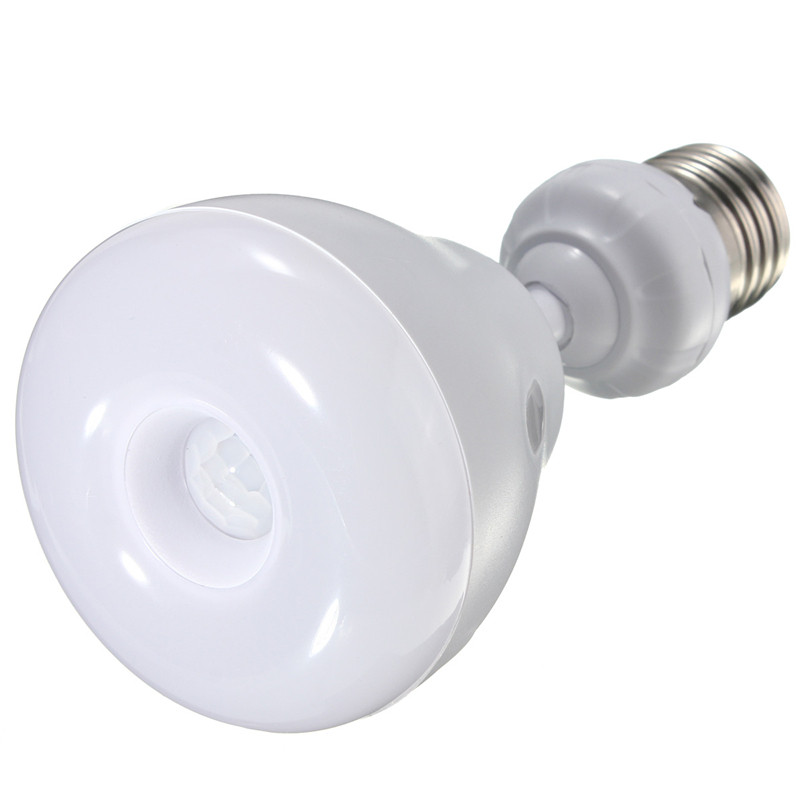 Hot Sale E27 5W 2835 3528 SMD 29 LED Light Bulb Infrared IR PIR Auto Motion Sensor Lamp Bulb Warm Pure White AC85-265V b22 5 7 9w 5730 smd auto smart motion pir infrared sensor body lamp detection led light lamp bulb pure warm white 85 265v