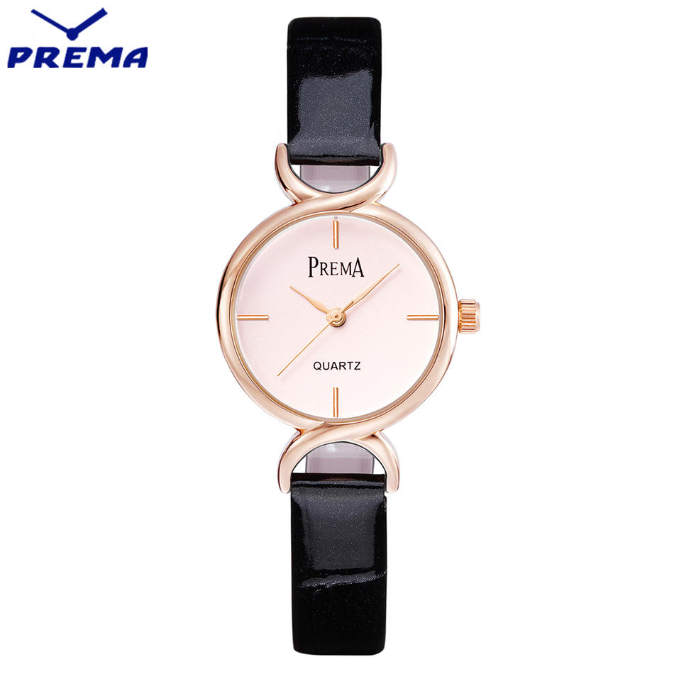 2017 Fashion Quartz Watch Women Top Brand Luxury Dress Watch Ladies Black Leather Strap Wristwatch Gold Simple Dial Girl Watch high quality fashion dial genuine leather strap top sale quartz watch women and men dress wristwatch personality