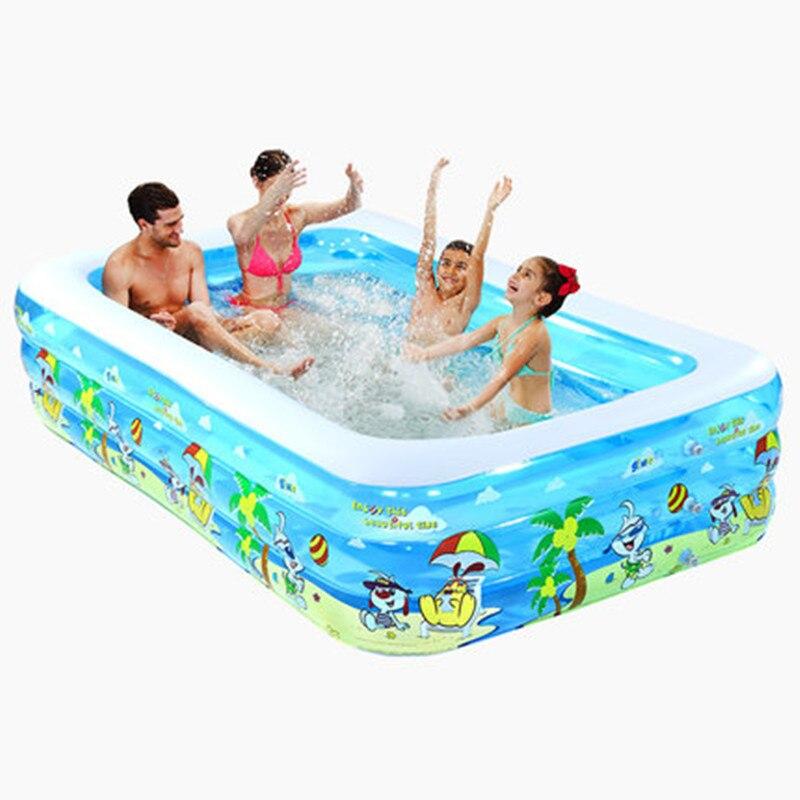 Gonflable Piscine Bébé Piscine Portable En Plein Air Enfants Bassin Baignoire enfants piscine d'eau jouer