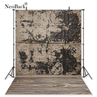 NeoBack Vinyl Fashion Tile Wall Brick Wood Floor Photography Backdrop Printed Vintage Elements Studio Portrait Photo backgrounds