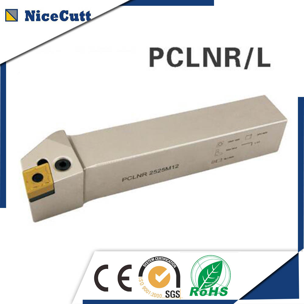 PCLNR/L Nicecutt External Turning Tool Holder for CNMG insert Lathe Tool Holder for CNMG120404 sir 0013m16 internal thread turning tool holder a rotacao do porta ferramenta and threading lathe tool holder