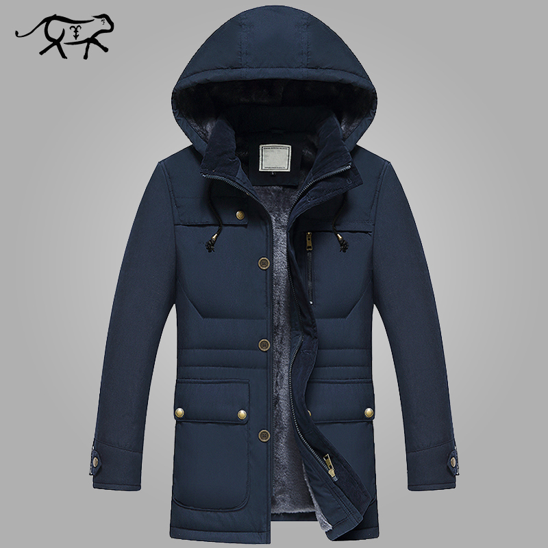 2017 New Brand Winter Jacket Men Fashion Mens Winter Parka With Hood Casual Warm Men's Coat Thick Long Parkas Homme Clothing 4XL 2017 new men s uniform fleece parkas fashion embroidery hood plus size thicked air pilot jacket coat for men pull homme d20f9935
