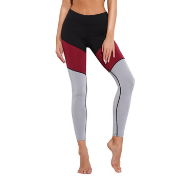 WOMAIL Patchwork Leggins Sport Women Fitness Yoga Pants 2018 Harajuku Summer Pink Push Up Hole Gym Leggings Sportswear capris
