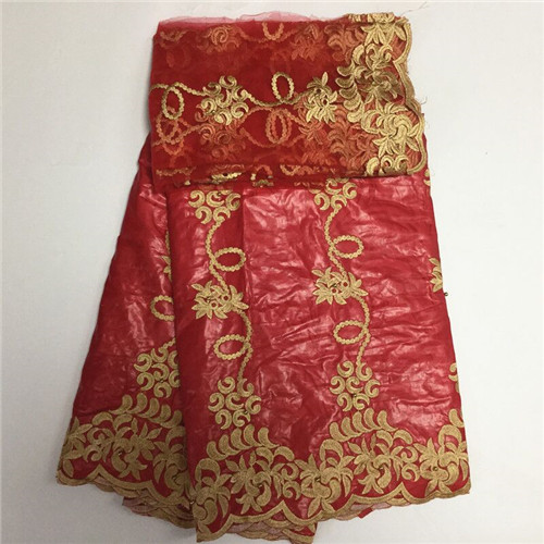 red Color Bazin Riche Getzner 7 Yards France High Quality Guinea Brocade Garment Fabric 100% Cotton african lace fabricred Color Bazin Riche Getzner 7 Yards France High Quality Guinea Brocade Garment Fabric 100% Cotton african lace fabric