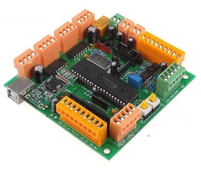 4 Eixos CNC USB Controller Interface Board Substituto MACH3 CNCUSB MK1 Impressora 3d para stepper e servo motor