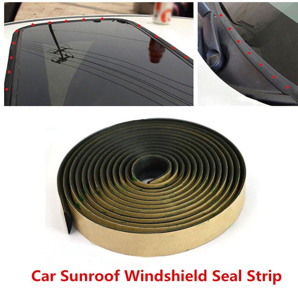3m Car Door Roof Sunroof Sealed Soundproof Strip For Toyota Corolla Rav4 Yaris Honda Civic Crv Nissan X Trail Tiida Accessories Car Tax Disc Holders Aliexpress