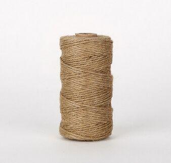 100m quality export jute packaging rope two fine hemp rope DIY handmade  accessories 068efd47a1