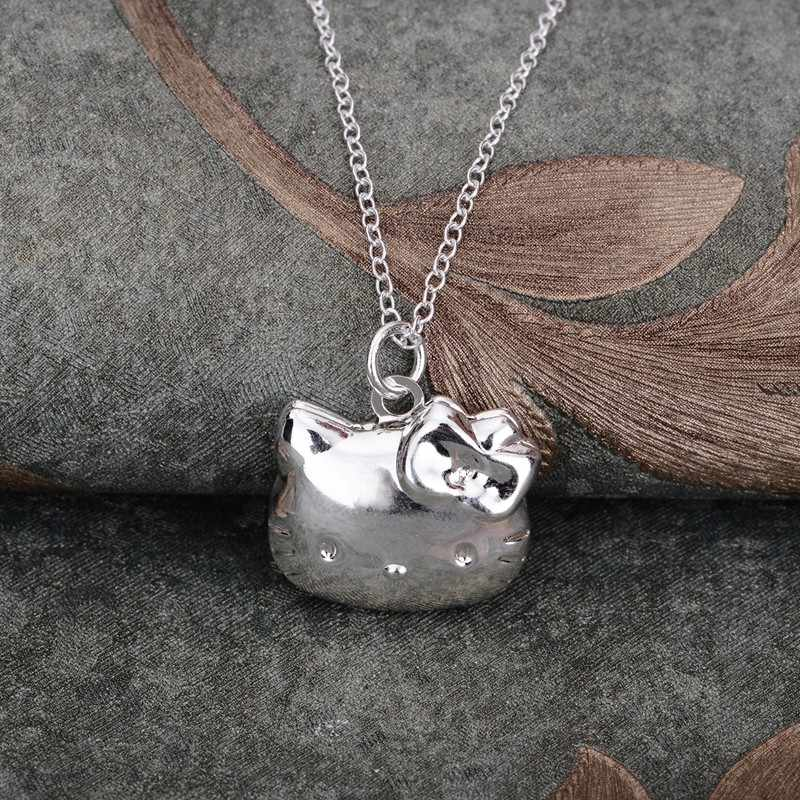 Collar chapado en plata 925, joyería colgante de plata, joyería de moda gptnrrrb