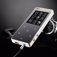Original RUIZU D01 Touch Screen Sport MP3 Player 8G MP3 Music Player with FM Radio Video