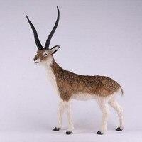 Home Decoration Simulation Tibetan Antelope Ornaments Animal Model Creative Decorations Craft Gift Pet Goat