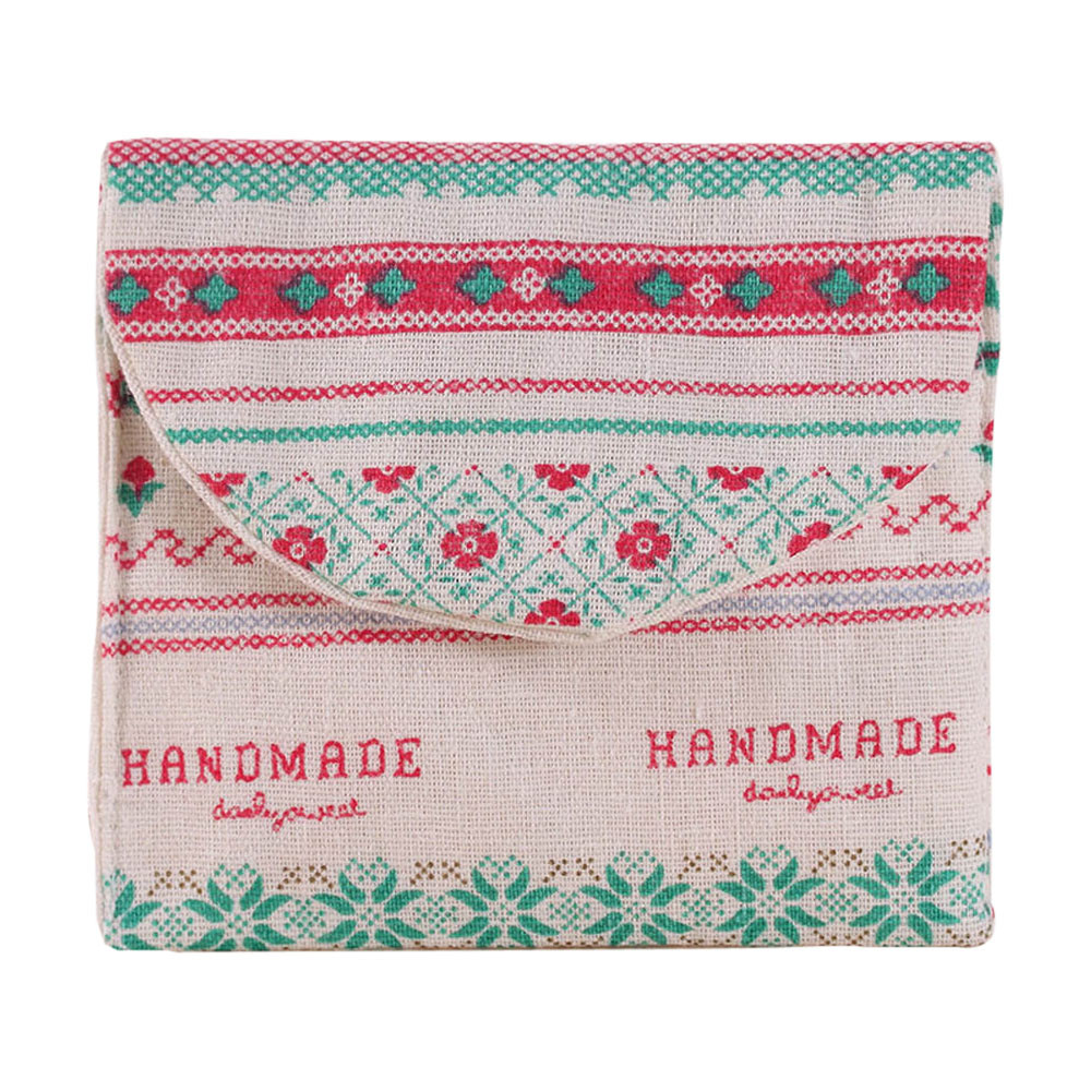New Casual Portable Women Girl Cute Sanitary Pad Organizer Holder Napkin Towel Convenience Bags Admission Package Cosmetic Bag maison fabre best deal new fashion women cute sanitary pad organizer holder napkin towel convenience mini coin bags gift 1pc