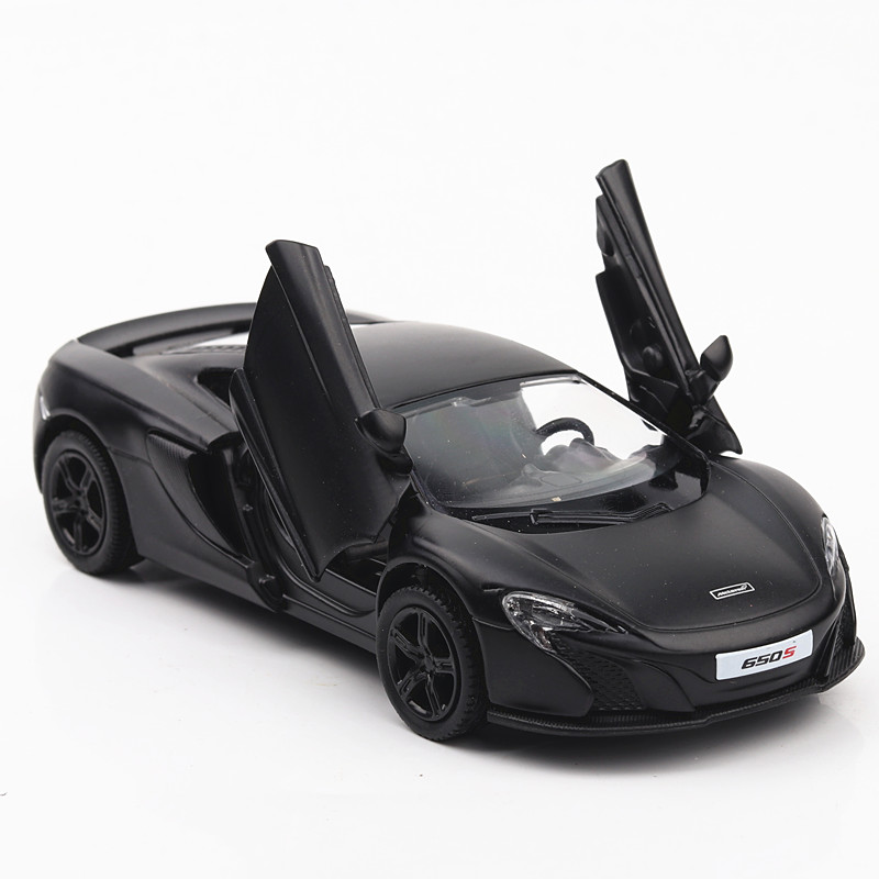 1/36 DieCast Model #CH554992M Mclaren 650S DieCast Car 5 Inch 2 Open Doors Without Electronics No Lights No Sounds Collective