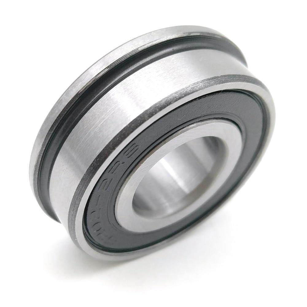 1pcs F6202 F6202RS F6202-2RS 15x35x11 MOCHU Flange Bearing Miniature Deep Groove Ball Bearing Sealed Ball Bearings