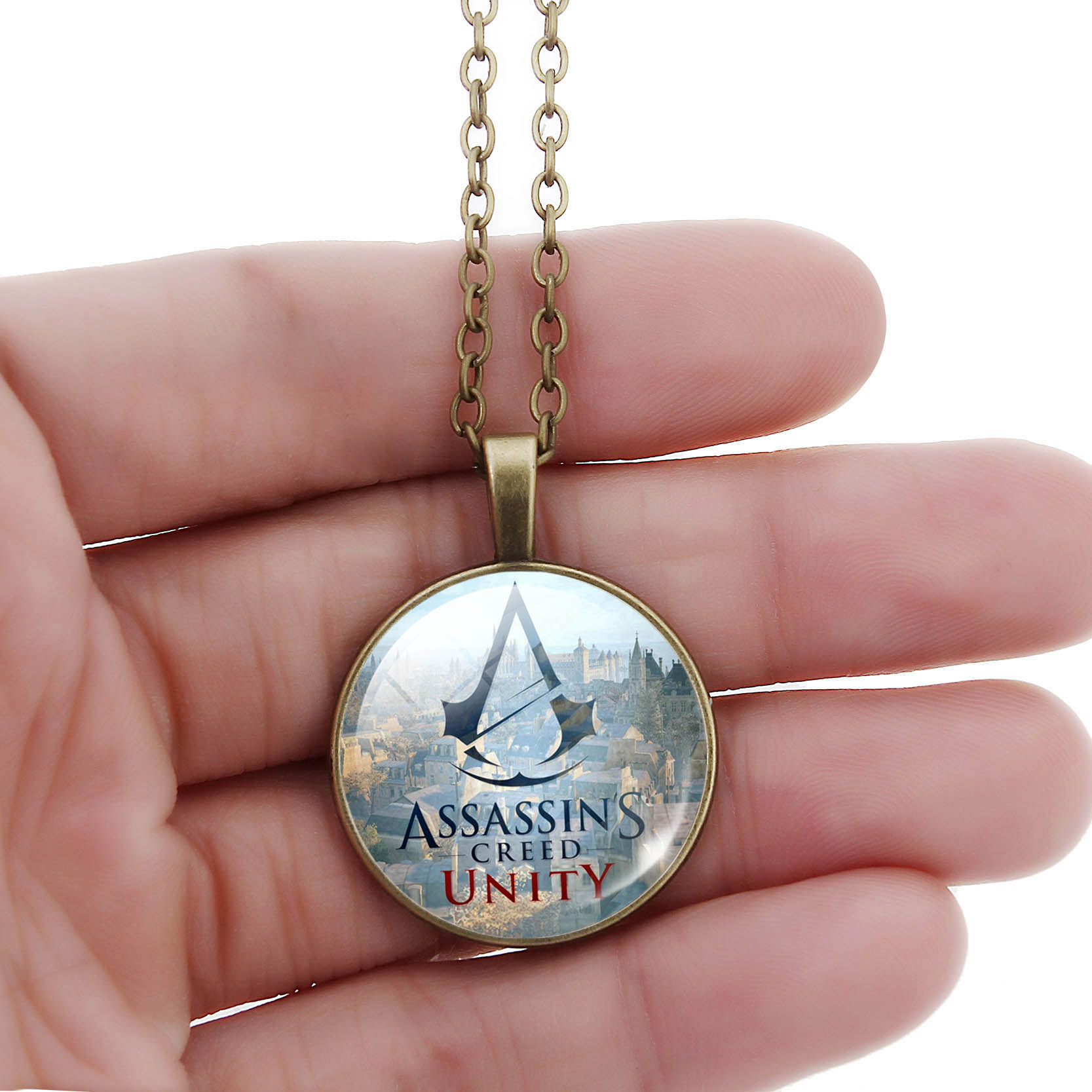 Assassins Creed Photo Pendant Necklace