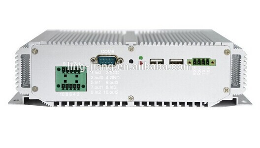 Rack Mount Case 1037U 1.8GHZ 2GB RAM Industrial Fanless Mini Pc With Dual Ethernet  (LBOX-1037U)