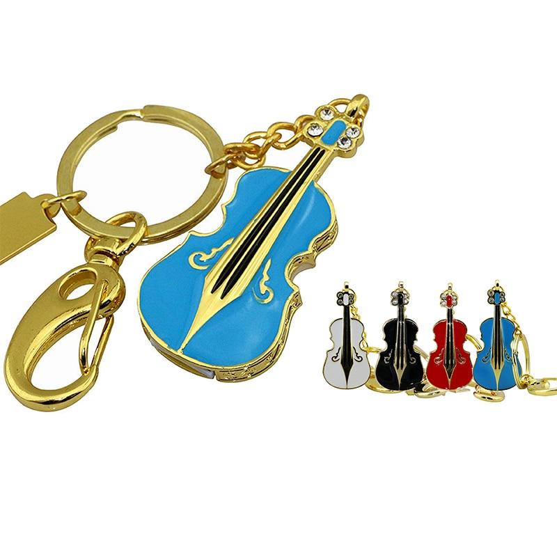 Hot sale Musical Instrument Guitar Usb Flash Drive / metal Violin Usb Memory Stick 1GB -64GB Flash Memory Stick Pen Drive Disk