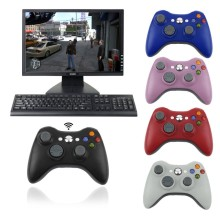 2.4GHz Wireless Gamepad Remote Controller with PC Receiver For Microsoft Xbox 360 Wireless Game Controller For Xbox360 and PC 10pcs a lot black 2 4g wireless gamepad controller with receiver for ps2