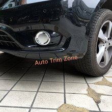 Chromed ABS Front Fog Lamp Foglight Cover Trim 2PCS For Mercedes Vito 2014-2017 W447