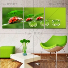 5D diamond embroidery flowers square sets full decorative diy painting The beetles 3pcs cross stitch