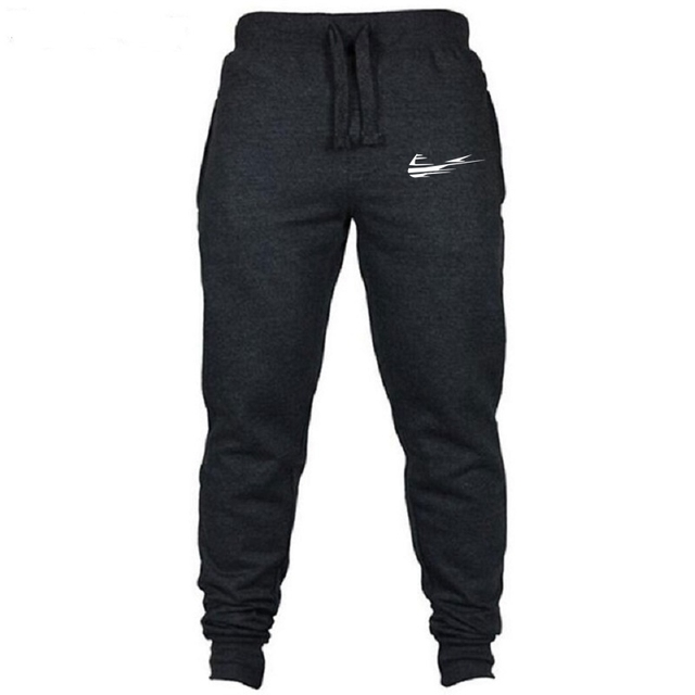 2018High Quality Jogger Pants Men Fitness Bodybuilding Gyms Pants For Runners Brand Clothing Autumn Sweat Trousers Britches