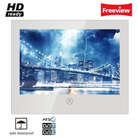Souria 10 6 Inch Mirror Glass USB TV Bathroom Ip66 Waterproof LED Television Luxury Small Screen