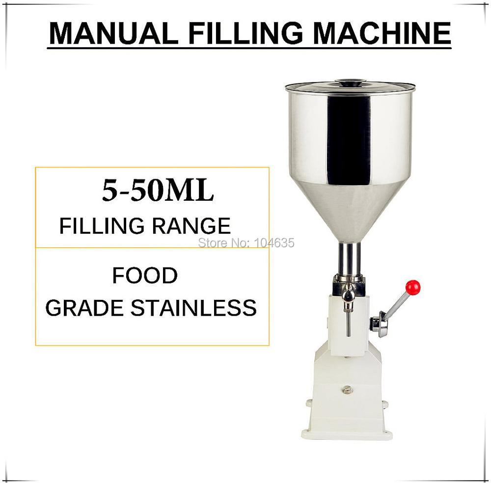 2017 Aliexpress Hot sale NEW Manual Filling Machine (5~50ml) for cream shampoo cosmetic,Honey Liquid filler machine 2016 hot sale aliexpress handmade