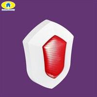 Golden Security Waterproof Outdoor Wireless Alarm Strobe Siren Anti Tamper Alarm Horn For G90B Security GSM