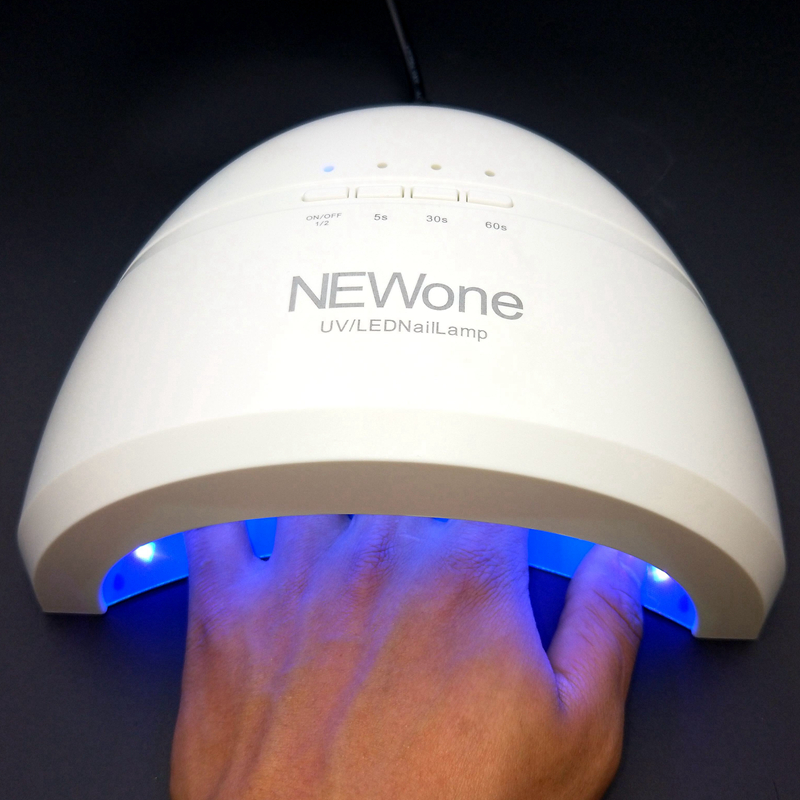 SUNone 24W/48W LED UV Lamp Nail Dryer Nail Beauty Salon Makeup Cosmetic Nail Dryer Polish Machine for Curing Nail Art Tools
