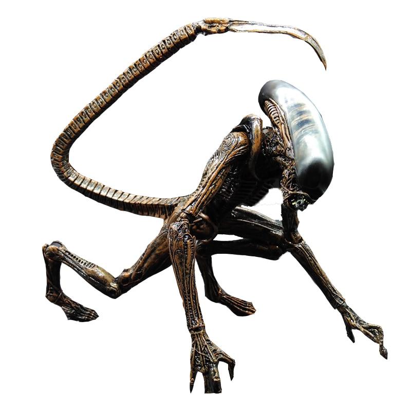 SAINTGI Alien 3 Dog Alien Alien vs Predator AVP ABS 20cm Action Figure Collection Model Dolls Kids Toys saintgi alien covenant alien vs predator alien pvc 19cm animated action figure collection model dolls kids toys
