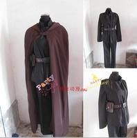 2016 Customized movie Star Wars cosplay Obi Wan Kenobi Jedi Tunic Costume Cosplay Costume
