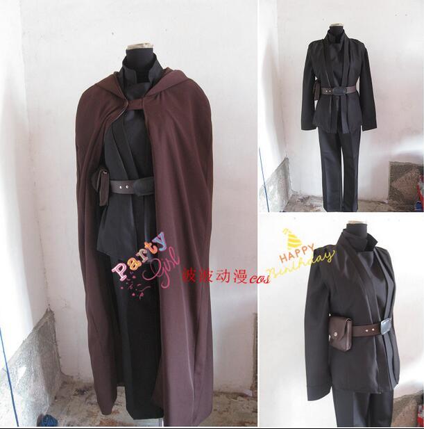 2016 Personnalisée film Star Wars cosplay Obi-Wan Kenobi Jedi Tunique Costume Cosplay Costume