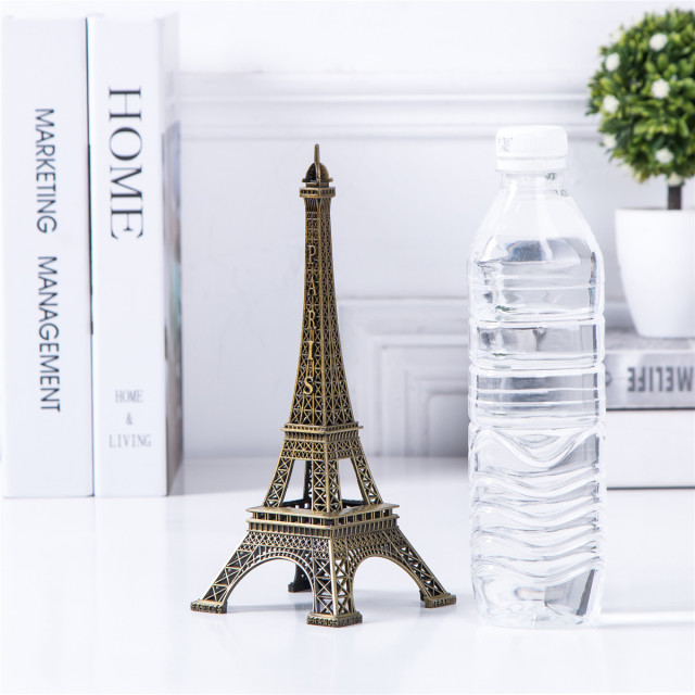 Bronze Eiffel Tower Decor zinc alloy Metal Home Decoration Improvement Gift 4