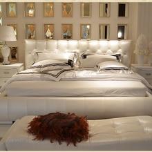 Современная кожаная мебель для спальни# CE-PC225