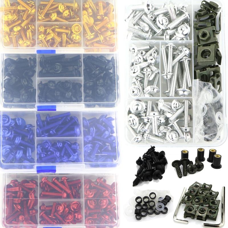 Für Aprilia RSV4 Tuono 1000 R Tuono V4 APRC Tuono V4 1100 RSV 1000 R RSVR RS4 125 SL750 Shiver mana 850 Verkleidung Schrauben Kit Schrauben