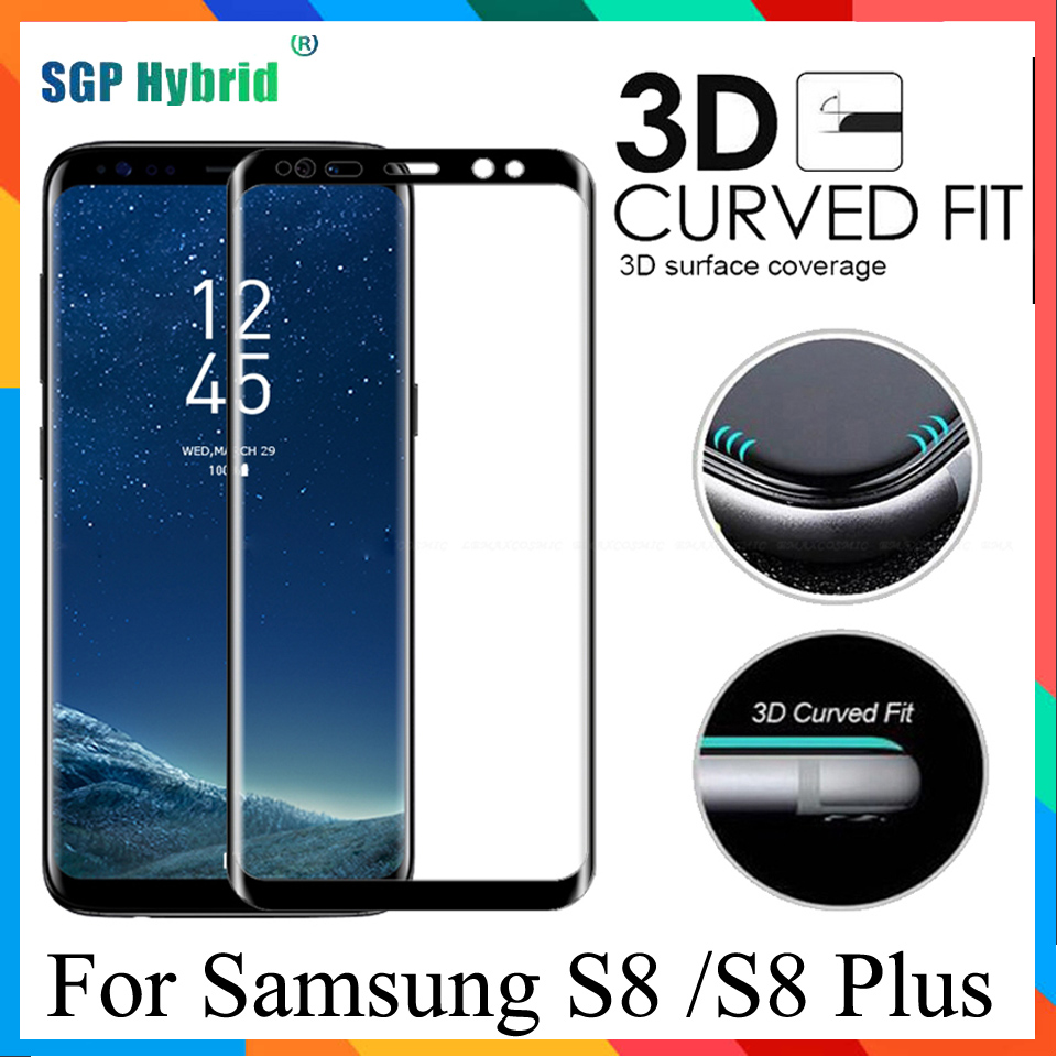 S8 glas For Samsung Galaxy 8 plus covers 9H 3D Full Screen Protector Tempered glass On Samsung Galaxy S8 S 8 plus S8+ Film Case