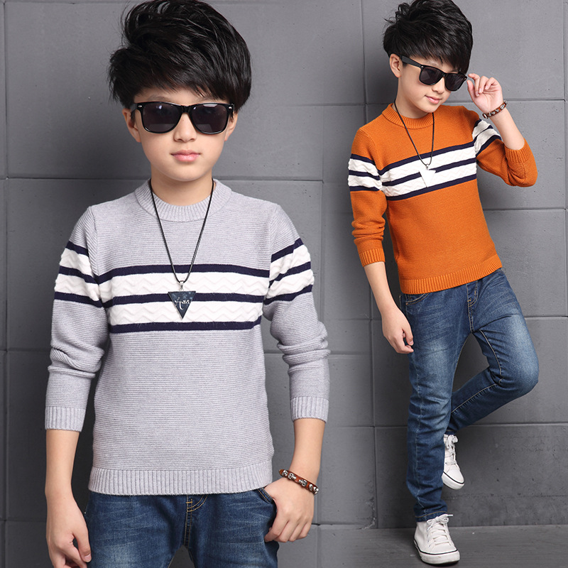 Boy fall of cotton sweaters children coat leisure coat sweater children winter clothes sweater boys