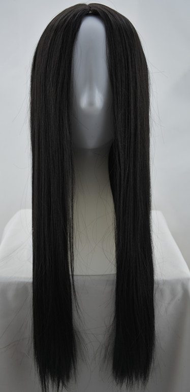 Black Hair Synthetic Heat Resistant Fiber