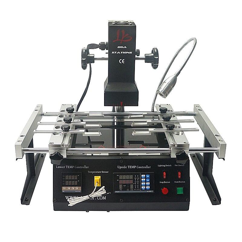 LY IR6500 V.2 IR BGA Rework Station Soldering Machine Preheat Area 240*200mm USB port and 6 pcs BGA jigs for BGA Reballing ly m770 infrared bga rework station bga reballing machine suitable for leaded
