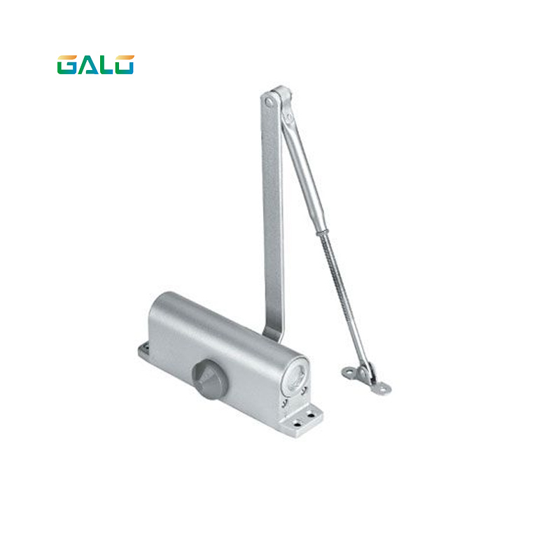 Automatic Door Closers Security System Adjustable Closing/Latching Speed Aluminium For Left And Right Hand Doors