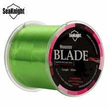 SeaKnight marka bıçak serisi 500m naylon olta Monofilament japonya malzeme 2-35LB 5 renk Mono naylon hattı