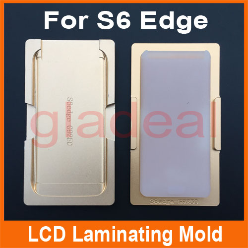 2PCS High Precision Metal Mold Mould LCD Separator Tools For Samsung S6 Repair Edge Touch Screen Laminating Glue Removing high tech and fashion electric product shell plastic mold