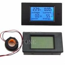 Nieuwe Ac 80 260V Lcd Digitale 100A Volt Watt Power Meter Ammeter Voltmeter Rental & Dropship