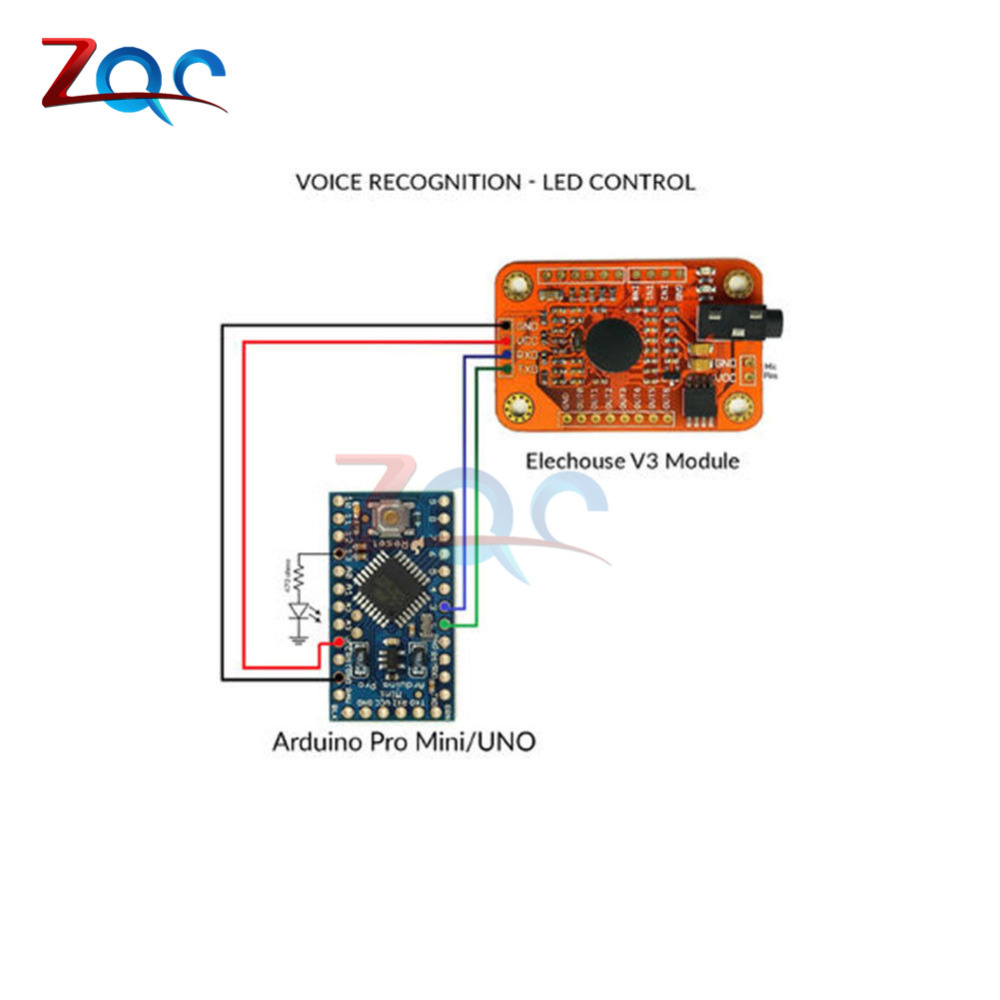 US $18 38 12% OFF|Aliexpress com : Buy Speed Recognition, Voice Recognition  Module V3, compatible for Arduino from Reliable Power Tool Accessories