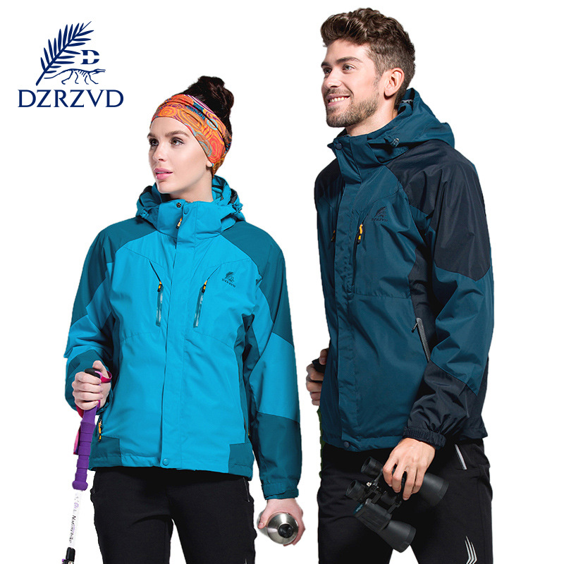 ФОТО Camping & Hiking Jackets 3 in 1 Jacket Waterproof Breathable warm hunting clothes climbing ski jacket men clothing for hunting