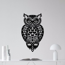 Owl Bird Wall Decal Removable Nature Poster New Design Stickers Home Living Room Decor Wallpaper AY0194